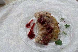 филе индейки сувит на пряной груше