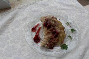 филе индейки сувит на пряной груше1